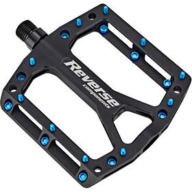 Reverse Black One Pedals schwarz/hellblau